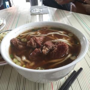 牛肉麵。 - 台湾台北ゲストハウスmimi -