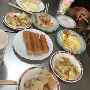 朝食! - 台湾台北 中山 ゲストハウスmimi -