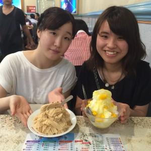 ピーナッツとマンゴーカキ氷! - 台湾台北 中山 日本人 ゲストハウスmimi -