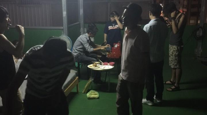 mimi屋上バーベキュー!! - 台湾台北 中山 ゲストハウスmimi -