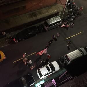 爆竹祭り - 台湾台北 中山 ゲストハウスmimi -