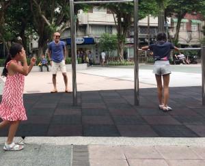 公園で遊ぼう - 台湾台北 中山 日本人 ゲストハウスmimi -